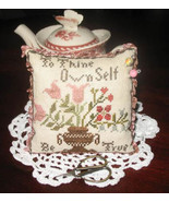 To Thine Ownself Be True cross stitch chart Abby Rose Designs - $9.00