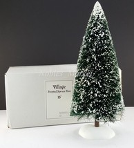 """Dept 56 Accessory Village 15"""" Frosted Spruce Tr... - $18.69"""