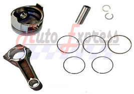 Honda GXV160 Piston & Rings, Pin Clips Conecting Rod New for 5.5 Vertica... - $28.90