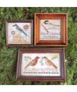 The Bird Collection Part 3 cross stitch chart H... - $10.80