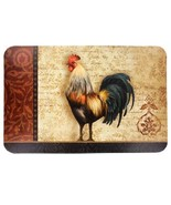 CHANTICLEER ROOSTER PLACEMATS Set of 2 Plastic French Country Decor NEW - $7.99