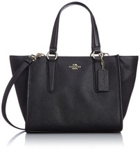 COACH Women's Crossgrain Leather Mini Crosby Ca... - $279.99