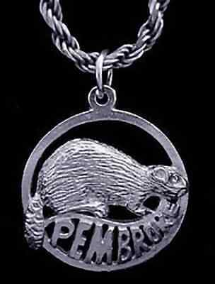 Primary image for Pembroke Ontario Canada beaver Pendant Sterling Silver Charm Jewelry