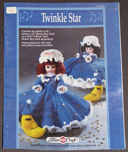Twinkle Star FCM211 - Crochet Dress Pattern for Music Box or Pillow Doll - $8.99