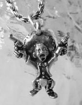 2742 Silver Pancho Villa Bandit outlaw Duel Gun Charm - $16.30