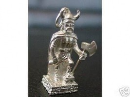 Viking Warrior Rams Horn Axe Pendant Celtic Jewelry - $18.20