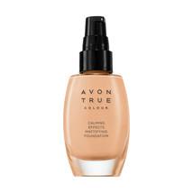AVON True Colour Calming Effects Mattifying Foundation 30 ml-1 oz/ IVORY - $14.99
