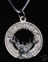 Golden British Columbia Pendant Charm Canada - $13.41