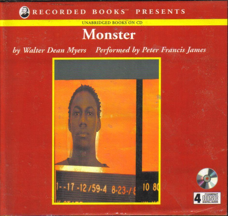 Monster by Walter Dean Myers Unabridged Audio Book ...