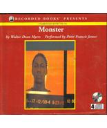 Monster by Walter Dean Myers Unabridged Audio B... - $16.99