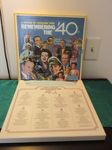 Readers Digest Remembering The 40'S 8 Record Al... - $13.49