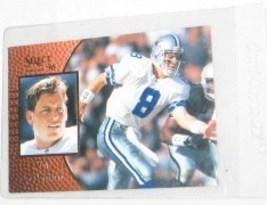1996 SELECT TROY AIKMAN PROMO CARD # 1 Free Shipping U.S.A. - $8.63