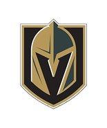 "NHL Vegas Golden Knights 12"" Vinyl Magnet12 Vinyl Magnet, Black & Gold, - $12.86"