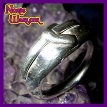 Elhaz Rune Ring! Justice, Victory & Success are Yours! Algiz Viking Meta... - $149.99