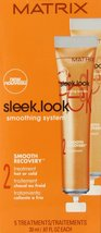 Sleek Look Smoothing System 2 Smooth Recovery Treatment Hot or Cold 5 X .6 (e... - $29.99