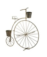 Old fashioned bicycle plant stand thumbtall