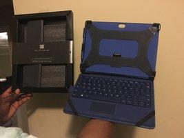 Platinum Leather Folio Case for Microsoft Surface 3 - $27.43