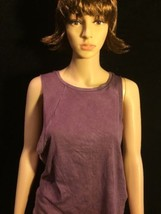 American Eagle Outfitters Womans Sleeveless Purple Size Small Shirt Bin#18 - $11.29