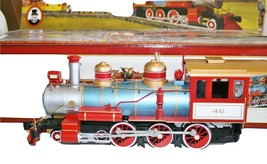 Bachmann G  4-6-0, Tender, Zebra Car & Caboose Circus Trains,