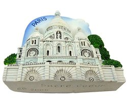 France Paris Sacre Coeur Souvenir Fridge Magnet... - $6.50
