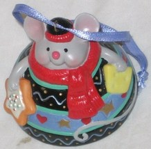 2000 HALLMARK KEEPSAKE CHRISTMAS BELLE FINE PORCELAIN ORNAMENT FREE SHIP U.S.A. - $10.10