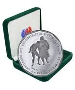 Dominican Republic 1 Peso, 31g Silver Coin, 1990, KM#77a, Mint,500th Ann... - €65,27 EUR