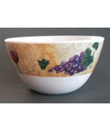 WINE theme DIP BOWL Snack Appetizer Candy Dish Grapes NEW - $6.99