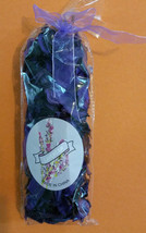 "LAVENDER POTPOURRI 10"" Bag with Purple Ribbon 4oz NEW - $4.99"