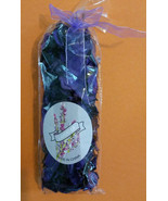 "LAVENDER POTPOURRI 10"" Bag with Purple Ribbon 4oz NEW - $6.99"