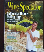 WINE SPECTATOR MAGAZINE March 2011 California Rhones Chile wines - $4.99