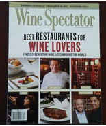 WINE SPECTATOR MAGAZINE August 2010 Best Restaurants for Wine Lovers - $4.99