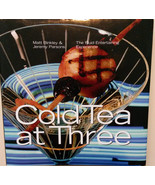 Cold Tea at Three: Book of Cocktail Recipes with Food Pairings NEW - $8.49