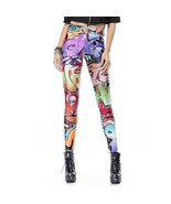 Graffiti Tagging Women's Leggings Yoga Workout ... - $18.99