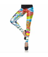 Adventure Time Women's Leggings Yoga Workout Ca... - $18.99