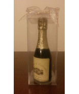 "NEW Champagne Bottle Candle, Gift Box, 6"", Party / Wedding Favor, Wine - $3.99"