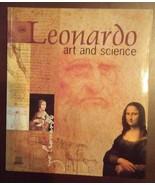 LEONARDO ART AND SCIENCE Da Vinci Book NEW - $17.99