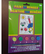 PAINT BY NUMBER Butterfly Flower Insects Kids Art Kit NEW - $5.99