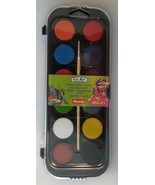 Watercolor Paint Set (12 count) with Brush, Auchan NEW - $6.49