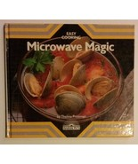 Microwave Magic Cookbook, Hardcover, Easy Cooking by Thelma Pressman Bar... - $3.99