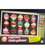 """CUPCAKE JIGSAW PUZZLE 300 Pieces Sweet Temptations 18""""x11"""" NEW - $4.99"""