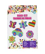 FUSED BEAD KIT Craft Activity Beads Butterfly Car Flower Heart Star NEW - $6.99