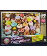 """CUPCAKE JIGSAW PUZZLE 300 Pieces Colorful Cupcakes 18""""x11"""" NEW - $4.99"""