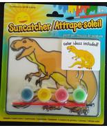 DINOSAUR SUN CATCHER Paint Set Art Kids Craft Kit NEW - $8.99