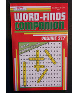 WORD SEARCH BOOK Word-Finds Companion Kappa Vol 217 NEW - $4.99