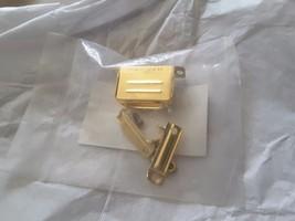 Mil-Spec ITT Cannon DA24658-15 GOLD Backshell 50u in. Gold SCRAP  NEW KI... - $70.39