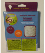 SCIENCE KIT FOR KIDS Make Your Own Snow Activity Set NEW - $5.99