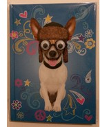 Dog Notebook / Journal Googly-Eyed JACK RUSSELL TERRIER hardcover 140pp ... - $6.99