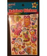 RAINBOW STICKERS 168-pc 6 sheets Dog Cat Unicorn Penguin Dolphin ARTSKIL... - $3.49