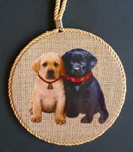 DOG Theme WALL PLAQUE Hanging Art Mat Hot Plate Trivet Spoon Rest Puppy ... - $12.99