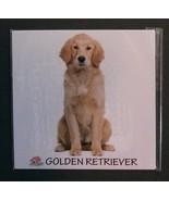 "DOG FRIDGE MAGNET Golden Retriever 4"" Metal Refrigerator NEW - $4.99"